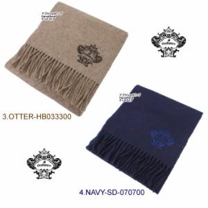 オロビアンコ マフラー モチーフ刺繍 OBJS-1401 ウール マフラー WD00033 orobianco オロビアンコ ag-815600