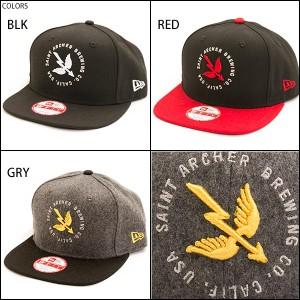 SAINT ARCHER キャップ スナップバック メンズ 帽子 NEW ERA WINGS AND ARROW SNAPBACK ニューエラ セイントアーチャー正規販売店