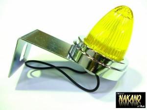 レア物 フェンダーランプ LEDミニマーカー12V/24V イエロー