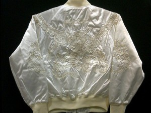 スカジャン つなぎ龍 日本製本格刺繍のスカジャン