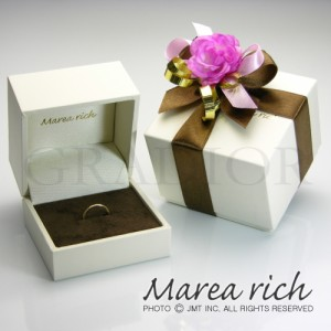 10金ゴールド ルビー ハーフエタニティリング レディース 女性用 小森純ジュエリーブランド Marea rich マレアリッチ