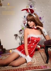 即納 サンタ コスプレ サンタコス コスチューム アニマル バニー セクシー サンタコスチューム クリスマス サンタクロース 赤 大人