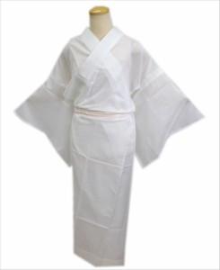 夏用(絽)のお仕立上がり洗える長襦袢白S・M・L・LL 単衣・夏物着物和装下着 女性用