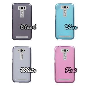 [送料無料]ASUSZenFone2LaserSIMフリー(ZE500KL)用スマートフォン保護カバーケースクリア半透明[納期:約2〜3週間]