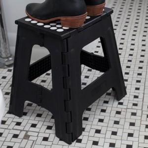 Kikkerland キッカーランド ビッグ イージー ステップアップ ライノ / スツール 折りたたみ式 踏み台 簡易椅子 脚立