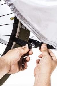 【改良版】NEW自転車カバー 厚手 撥水 高品質素材を使用 29インチまで対応 撥水加工 UVカット 風飛び防止&収納袋付