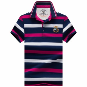 ポロシャツ メンズファション 半袖 カジュアル メンズ トップス シンプル 紳士 ファション オシャレ 修身 夏