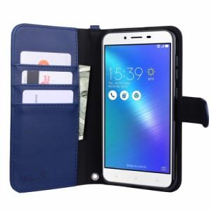 【ストラップ2種付】wisers ASUS ZenFone 3 Max ZC553KL 5.5インチ スマートフォン スマホ 専用 手帳型 ケース カバー 全4色