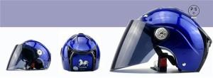 バイクヘルメット バイク用 革 高密度ABS 男女共用ヘルメット ジェット ハーレー 春 夏 秋 冬 PSC付き【送料無料】YEMA-310