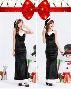 サンタ  クリスマス コスプレ 衣装 大人用 サンタクロース コスチューム レディース 仮装 Xmas パーティーグッズ 赤 サンタドレス