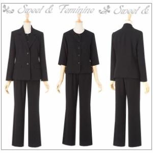 a08a4d5f0d6ea ブラックフォーマル ミセス 喪服 ミセス 礼服 ミセス ブラックフォーマル 40代 ブラックフォーマル 50代 ブラックフォーマル パンツ