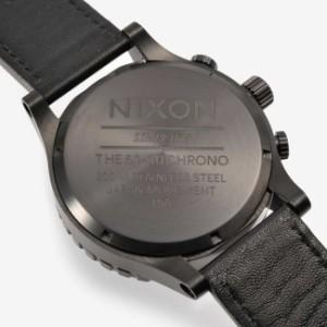 ニクソン NIXON THE51-30 A124001 メンズ ブラック レザーベルト 並行輸入品 【送料無料】