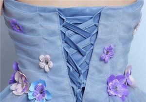 花柄 ミニドレス パーティードレス ワンピース カラードレス ショート丈 二次会 演奏会 披露宴 結婚式 発表会 代引可