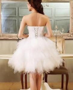 ウェディングドレス ホワイト パーティードレス ワンピース 忘年会 二次会 演奏会 披露宴 結婚式 発表会 代引可