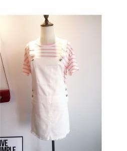 親子サロペット 親子ペアルック オーバーオール 親子服 レディース 子供服 Tシャツ 誕生日プレゼント 親子お揃い服