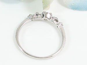 プラチナ ダイヤモンド プレゼント Pt900 指輪 ダイヤ 0.22ct
