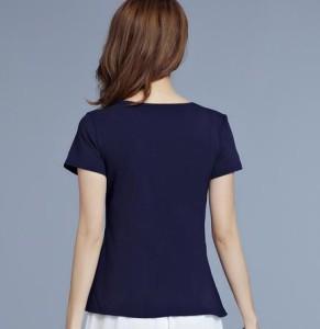 2点送料無料 レディース 中国風 半袖Tシャツ トップス チャイナ風 ゆったり 中国風ボタン ナチュラル エスニックリネン ふんわり