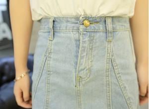 【NEW】 セレカジ デニム クラッシュ ショートスカート 大きいサイズ レディース 夏 新作 LL 3L 4L【予約】ertv-1719