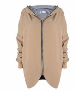 レディース春物ジップアップ大きいサイズジャケット通勤パーカー フード スプリングコート ブルゾン長袖アウター薄手ダスター ストリート