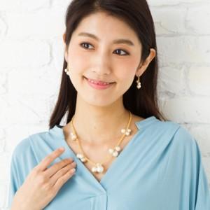 Kodemari コットンパール・ネックレス日本製 ハンドメイド