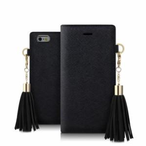 スマホケース タッセル ストラップ Galaxyケース かわいい おしゃれ 人気 手帳型 スマホケース Galaxy S8+ S8 S7edge S6edge S6ケース