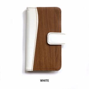 Galaxy A8 SCV32 ケース スマホケース Samsung ギャラクシー simフリー 木目 wood ウッドダイアリー かわいい カバー 革 手帳ケース
