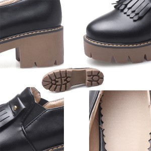 22cmパンプス シューズ/走れるパンプス/レディース靴/ヒール 大きいサイズ/結婚式 二次会 通勤/フリンジ付き 歩きやすい/夏新作