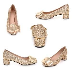 パンプス 大きいサイズ 小さいサイズ靴 大きいサイズ ヒール パンプス 結婚式 チャンキーヒールパンプス パーティー パンプス ヒール