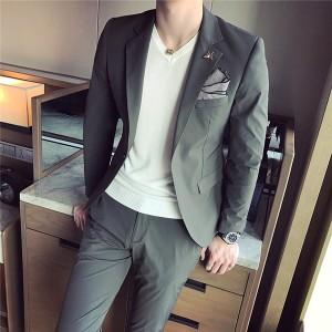 【スーツ ツーピース】フォーマル スーツ メンズスーツ コート ベスト 男性スーツ 結婚式  セットアップ パンツ ビジネススーツWU052