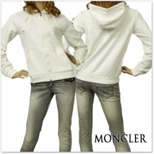 【セール 40%OFF!】MONCLER モンクレール レディースジップアップパーカー 84989-00-8098W オフホワイト