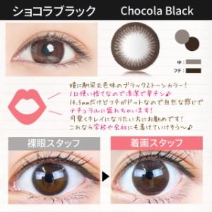 【メール便送料手数料無料】2箱【計20枚】1日使い捨て カラコン1Day TeAmo【14.5mm Shell Brown Shell Gray Chocola Black】度あり