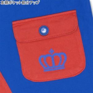 6/11一部再販 SALE50%OFF アウトレット 通販限定 前ポケットハーフパンツ ベビーサイズ キッズ ベビードール 子供服-9535K