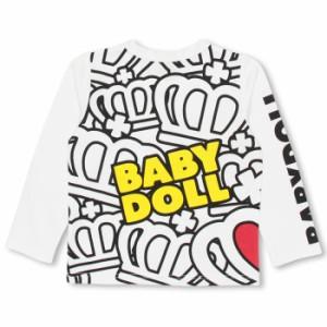 週末限定SALE60%OFF ディズニー ラブラブロンT-ベビーサイズ キッズ ベビードール 子供服/DISNEY-9761K