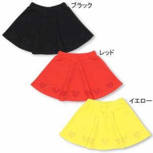 11/17〜FW_SALE30%OFF ディズニー 裾アイコンスカート-ベビーサイズ キッズ ベビードール 子供服/DISNEY-9768K