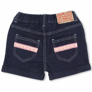 アウトレットSALE50%OFF リボンポケットショートパンツ-ベビーサイズ キッズ デニム ベビードール 子供服-9426K