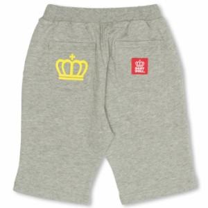 SALE50%OFF アウトレット 通販限定 POPロゴハーフパンツ ベビーサイズ キッズ ベビードール 子供服-9497K