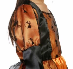 c584f19f5cd0b ハロウィン特集予約ドレスワンピ帽子付パーティーコスプレ子供キッズ魔女 Cosplay ハロウィン衣装演出衣装 ZML-3084 送料無料