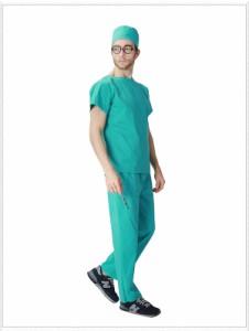 送料無料 ハロウィン コスプレ衣装 男性用 ドクター 手術着 医者 外科医 仮装 コスチューム 大人用 メンズ  パーティー服