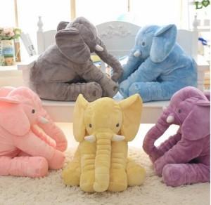 欧米SNSで大人気! ぬいぐるみ リアルぬいぐるみ アフリカゾウ 象 抱き枕 インテリア 子供 おもちゃ  動物  柔らか プレゼント 長さ60cm