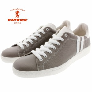 【交換送料完全無料】 パトリック PATRICK PIQUECH-LE ピケッチ レザー GRY グレー 528104