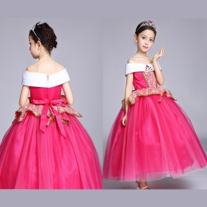 ハロウィン コスチューム キッズ 発表会 子供 女の子 ガール プリンセス お姫様 ドレス 衣装 仮装 /KD1