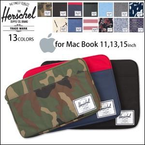 ノート PC ケース HERSCHEL SUPPLY PCスリーブ ANCHOR SLEEVE for Mac Book Air/Pro 11インチ 13インチ 15インチ