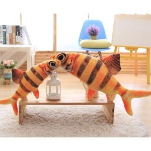 【送料無料】ぬいぐるみ さかな おもしろクッション 魚 抱き枕 サカナ 店飾り インテリア リアル魚 60cm