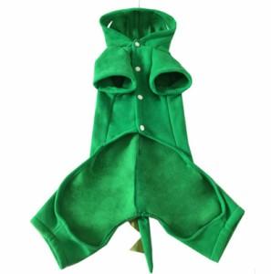 犬 服 【コスプレ】サンタ ハロウィン ドッグウェア dinosaur 衣装 コスチューム ペットグッズ クリスマス 仮装 変身 送料無料