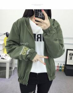 アウター  コート オーバー 女性 レディース ジャケット 上着 大きいサイズ オーバーサイズ 秋服 お洒落 長袖 パーカー スプリングコート