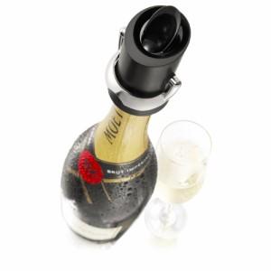 ヴァキュヴァン シャンパンセーバー 兼 ポワラー シャンパンストッパー 飲みかけ おいしく 保存 女子会 グッズギフト ワイングッズ