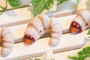 超リアル!かぶと虫の幼虫チョコレート10匹入り 【冷蔵発送】