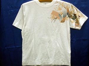 値下げ!カラクリ 半袖Tシャツ 鯉刺繍 KARAKURI
