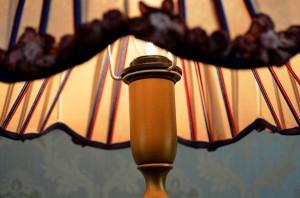【送料無料】イタリア製★【ヴェネチアランプ】高級感 ヨーロピアン 1灯 卓上 寝室 照明 アイアン