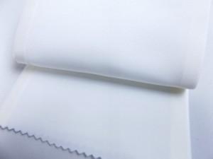コーリンワンタッチ半衿半襟2枚組み白 縫いつけいらずで簡単 和装着物小物